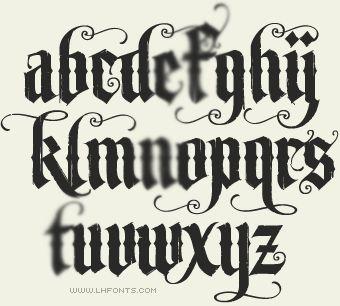 1000+ images about Fancy Fonts on Pinterest