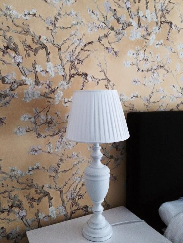 Behang Amandelbloesem Wallpaper Almond Blossom