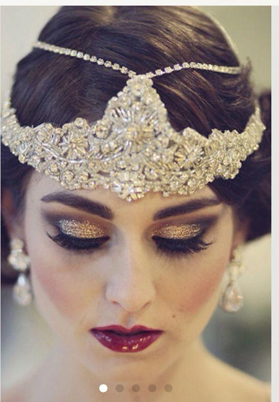 Great Gatsby makeup look  Inspiration  Pinterest  Gatsby makeup Gatsby and Makeup