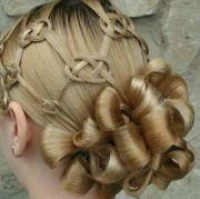 celtic knot hair cool style