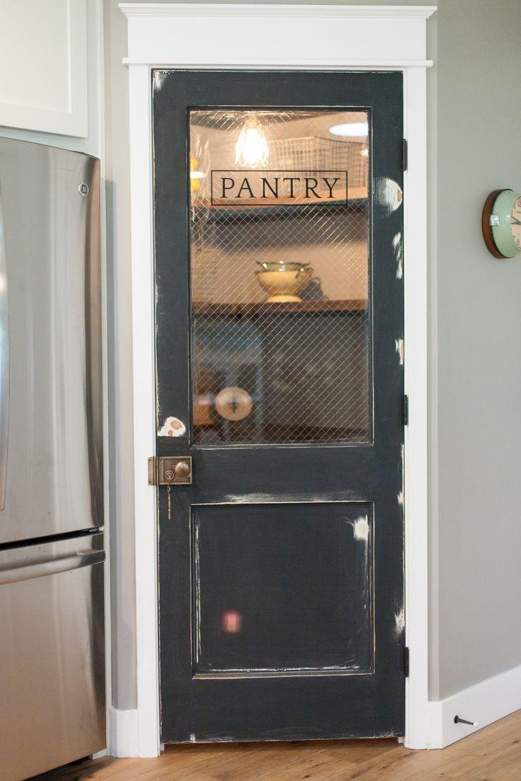 Vintage Door Repurposed As Pantry Door By Rafterhouse