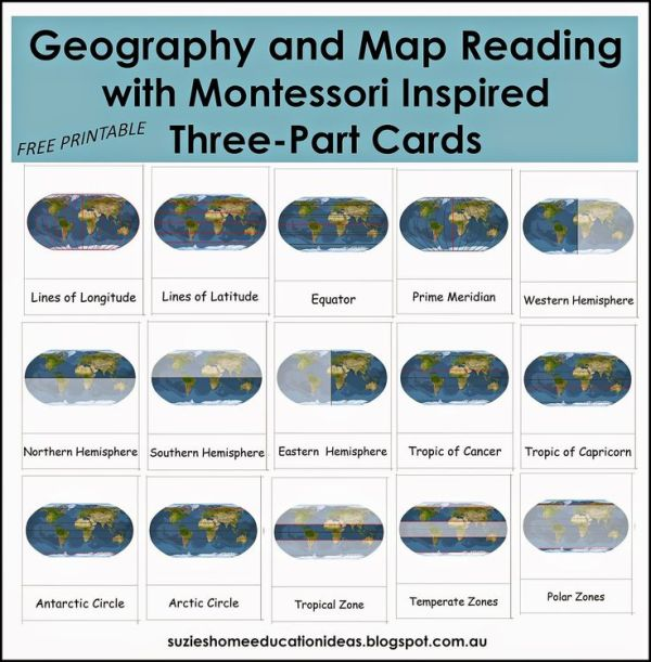 319 best images about Learning Montessori Geography on
