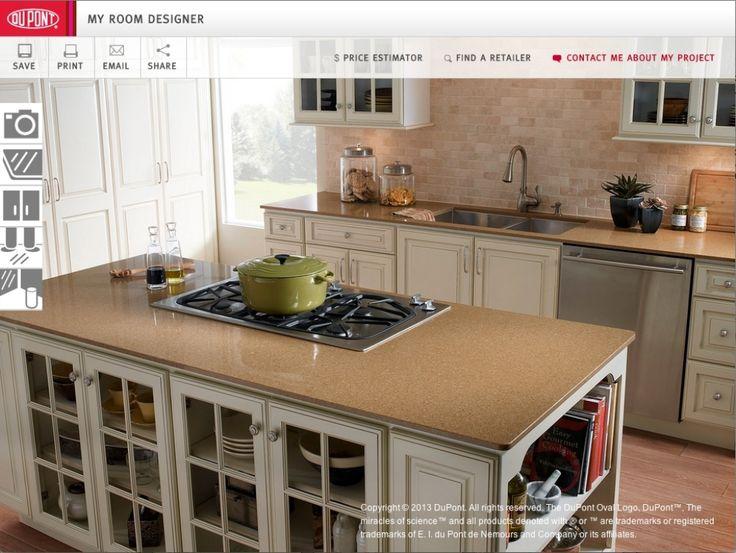 Virtual Kitchen Island Designer
