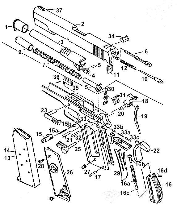 Revolver Drawing Pictures To Pin
