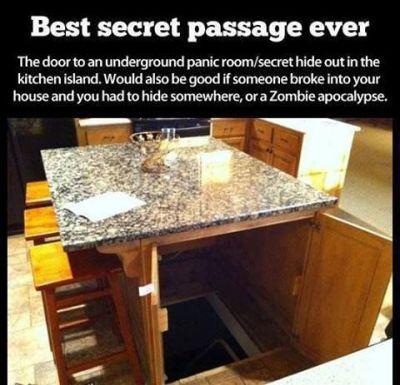 Secret door to panic room   Products I Love   Pinterest ...