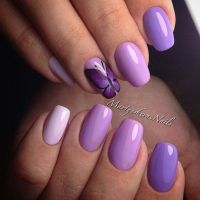 Best Violet nails ideas on Pinterest