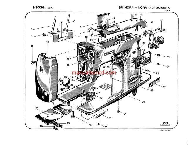 domestic 153 wiring diagram