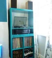 Kallax - Stereo and Record Storage | Salon | Pinterest ...