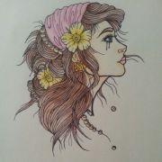 gypsy. gypsy girl. hippie. hippie