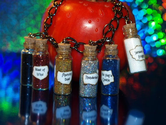 Evil Queen Charms Magic Spell 6 Vials of Wicked Ugliness