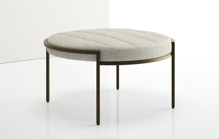 chair cba steel bar stool seat covers ethos one ottoman - Élan by decca | seating pinterest ottomans, stools and benches