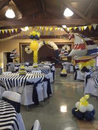 Nautical themed baby shower. Sheila Moody's Balloons ...