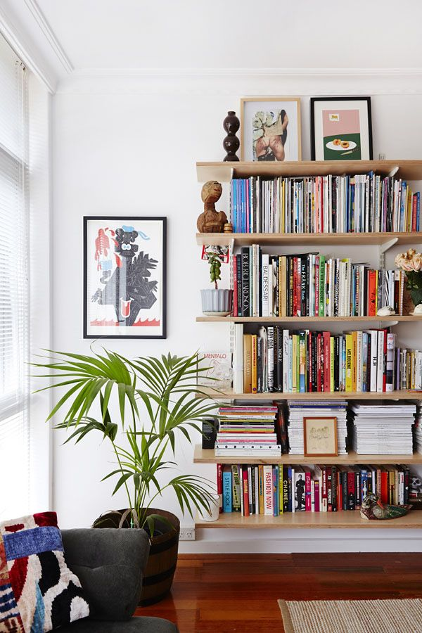 25 best ideas about Floating bookshelves on Pinterest