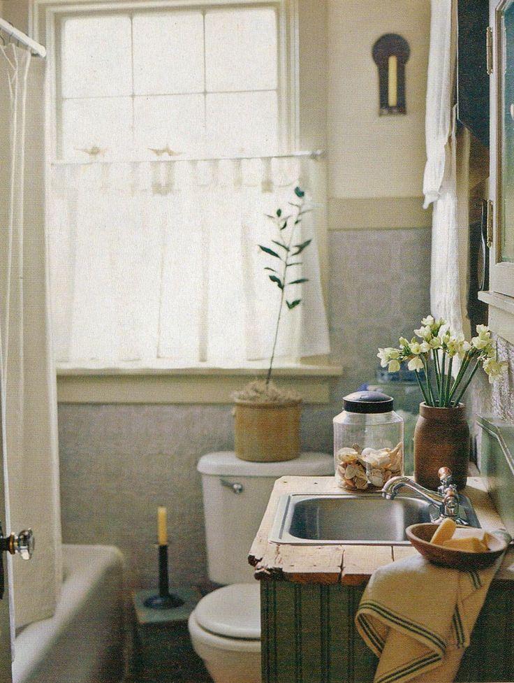 Farmhouse Bathroom Rustic Pinterest Vanities