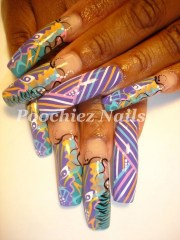 1000 ideas ghetto nail design