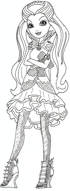 Ever after high, Raven and Ever after on Pinterest