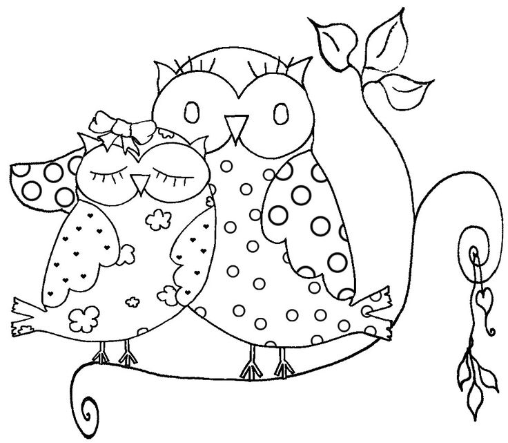 25+ best ideas about Owl coloring pages on Pinterest