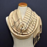 Book Scarf. Library scarf. Literary scarf. Print scarf ...