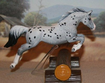 3 Quot Breyer Stablemate Custom Jumping Cm Leopard Appaloosa