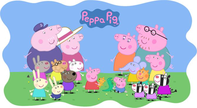 Peppa Pig Watch It Every Day Better Than The News Who