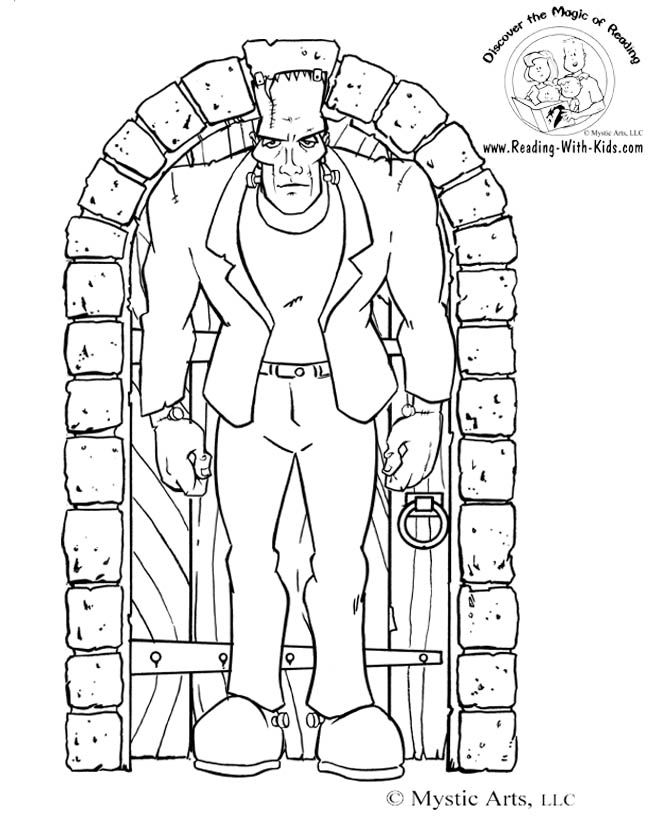 110 best images about adult horror coloring pages on Pinterest