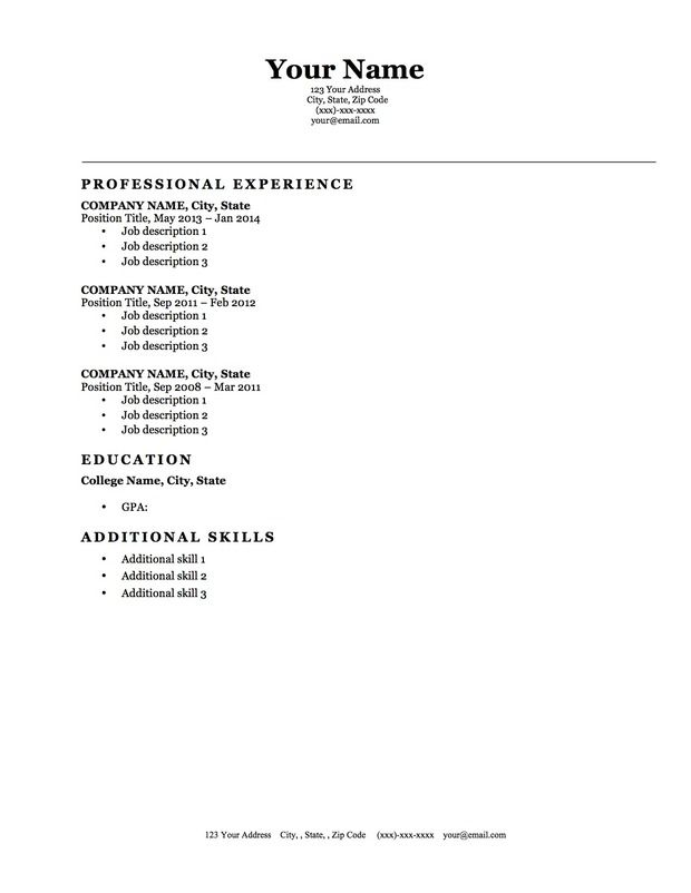 Resume Template References References For Resume Template Resume