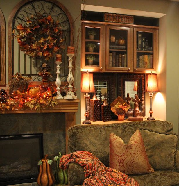 25+ best ideas about Fall Living Room on Pinterest