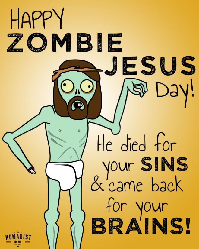 arrghh happy zombie jesus
