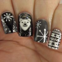 78+ ideas about Winter Nails on Pinterest