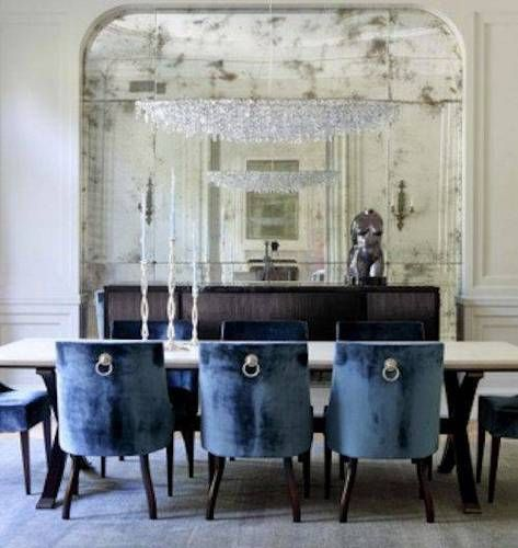 17 Best Ideas About Navy Dining Rooms On Pinterest Blue