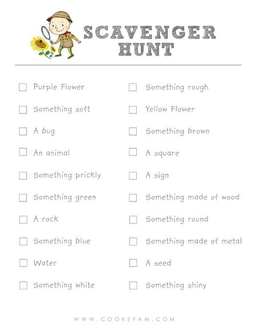 1000+ images about Super Scavenger Hunts on Pinterest