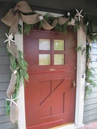 Homemade Beauties By Heidi: Coastal Christmas: Front Door ...