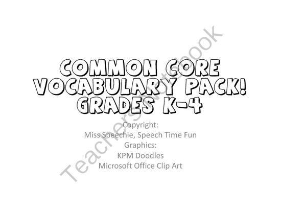 110 best images about SLP Common Core on Pinterest