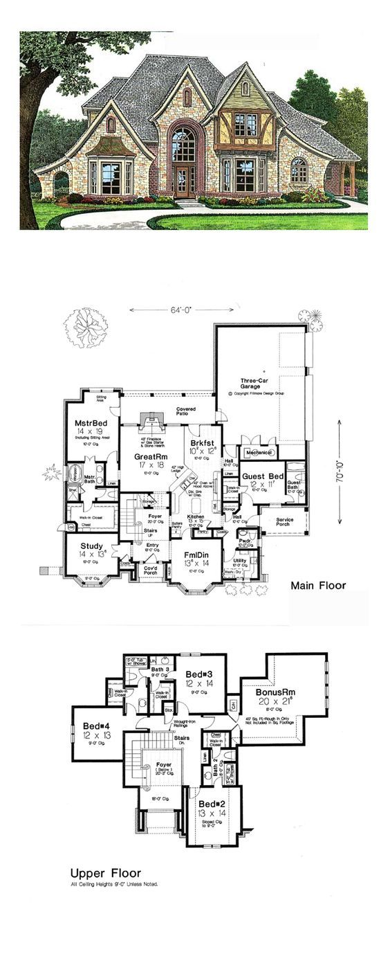 Best 20+ French country house plans ideas on Pinterest