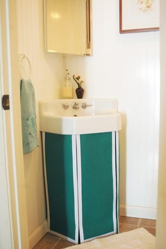 1000 ideas about Bathroom Sink Skirt on Pinterest