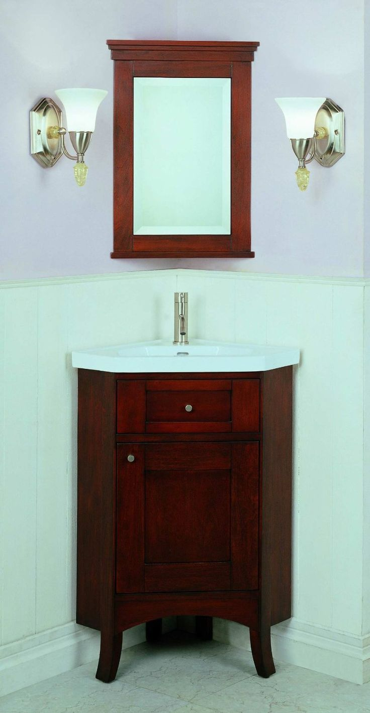 1000 ideas about Corner Vanity on Pinterest  Corner Bathroom Vanity Corner Vanity Unit and