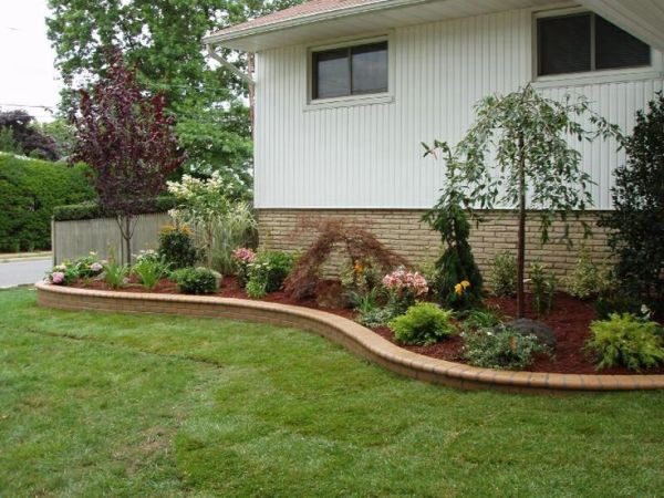 retaining wall front yard ideas