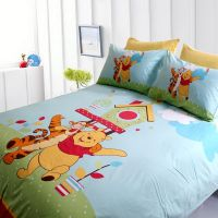 Winnie the Pooh Bedroom | Blue Winnie the Pooh Bedding ...