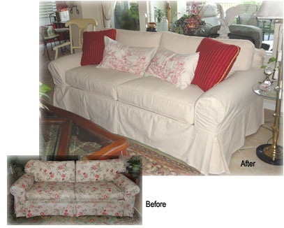 slipcovers for sectional sofas with cushions separate sofa accessories mumbai 12 best images about slipcover magic - before & afters on ...