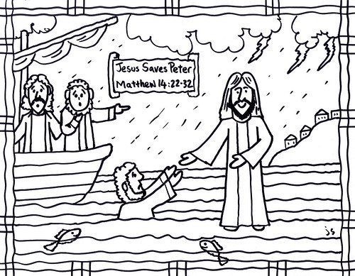 17 Best images about Jesus walking on the water on