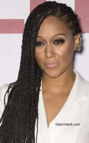 tia mowry corncrow braids hairstyle