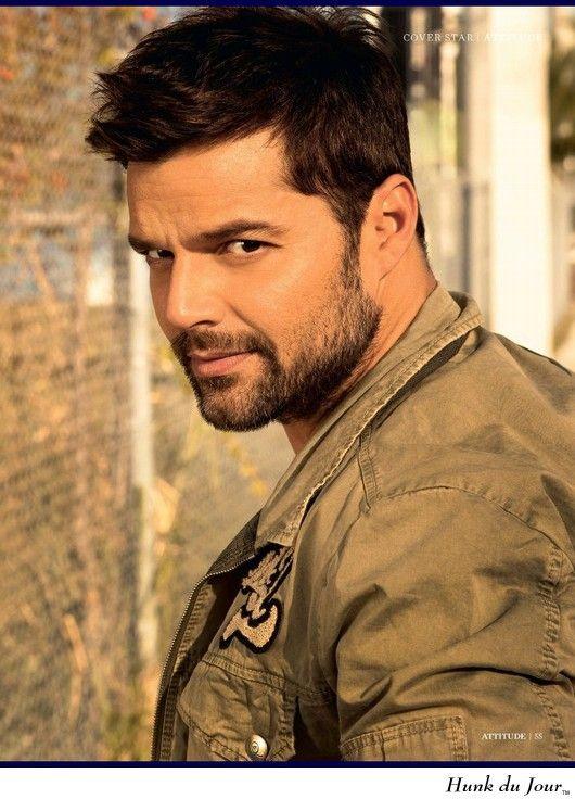Ricky Martin Hunk Du Jour Famous Boys Pinterest