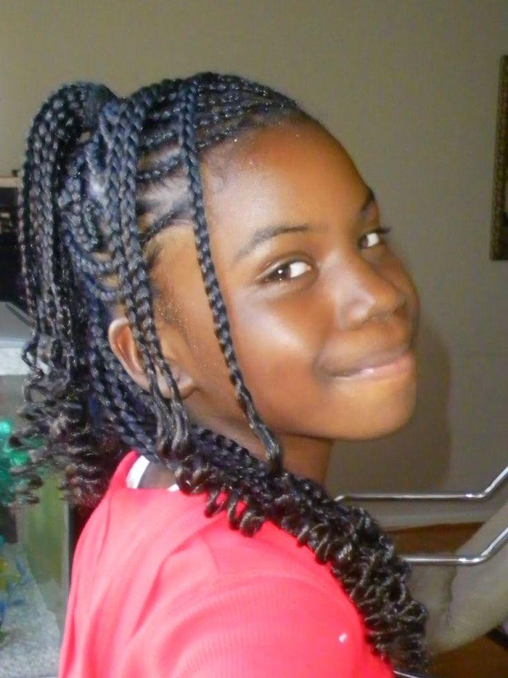 1000 ideas about Kid Braids on Pinterest  Girls natural