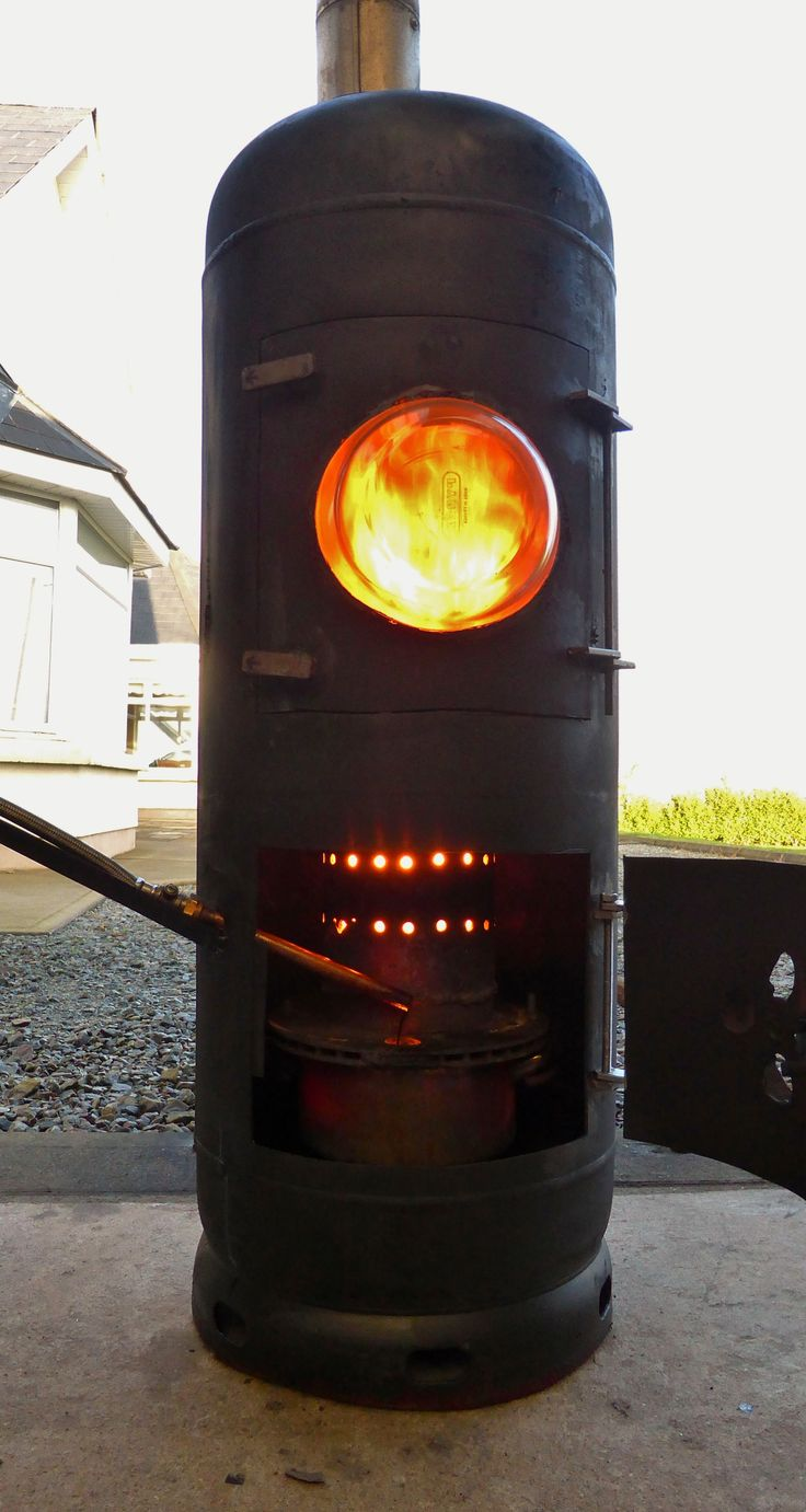 Video 7: Fantastic Waste Oil Heater  Make lots of free