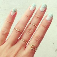 middle thick stacking rings,stackable rings,stacked rings ...