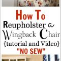 Reupholster a chair tutorial video how to reupholster a chair tutorial
