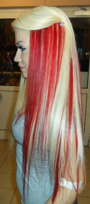 1000 Ideas About Bright Red Highlights On Pinterest Red