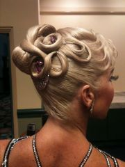 ballroom hair beautiful