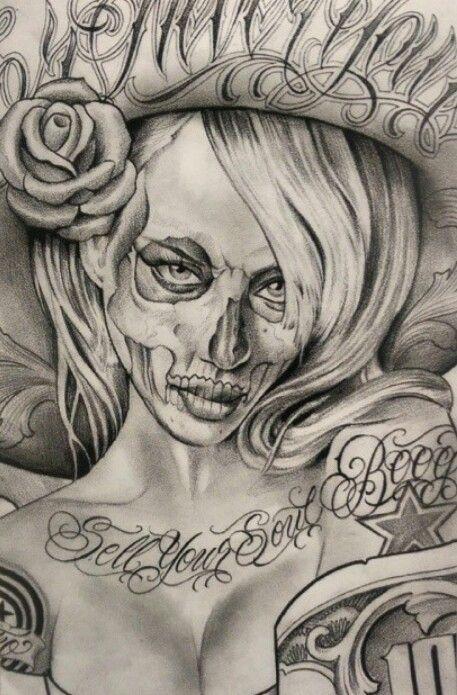 Cholo Angel Drawings Wwwpicturesbosscom