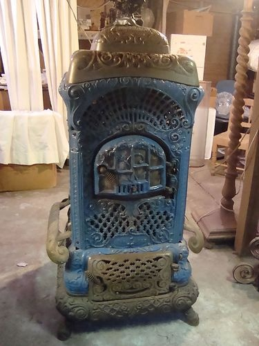 vintage kitchen stoves carpet runner antq cast iron wood burn parlor stove